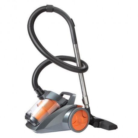 CONTINENTAL EDISON VCDC90SO2 Aspirateur traîneau sans sac - 700W - 80 dB - A - Orange