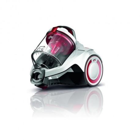 DIRT DEVIL DD2225-0 Aspirateur traîneau sans sac Rebel25HE - 700W - 79 dB - A - Blanc