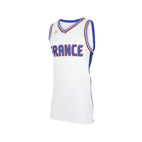 ADIDAS NBA Maillot Basket-Ball France FFBB