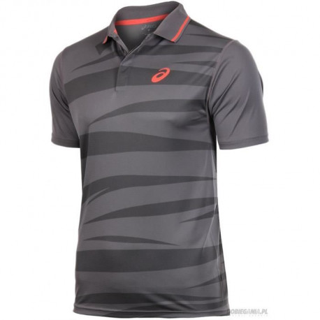 ASICS Polo Manches Courtes Tennis Homme