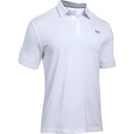 UNDER ARMOUR Polo Medal Play Performance Polo Blanc Homme