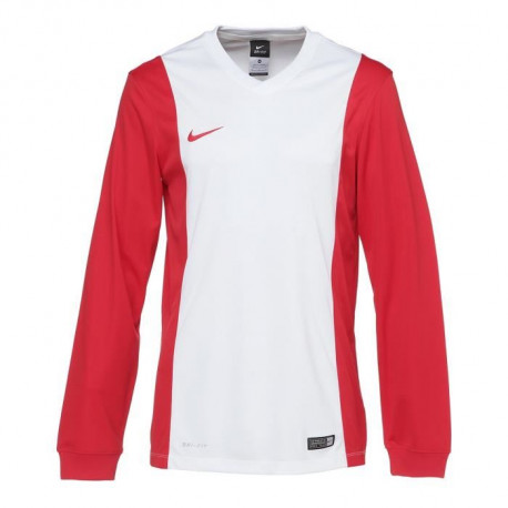 NIKE Maillot Manches longues Park Derby - Homme - Blanc