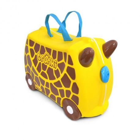 TRUNKI Ride-on - Valise a roulettes pour enfants- Girafe Gerry