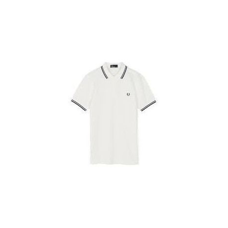 FRED PERRY Polo Homme Blanc