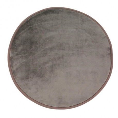 FLANELLE Tapis Rond 70 cm Taupe