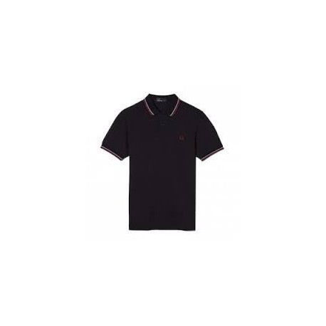 FRED PERRY Polo Homme Bleu Marine