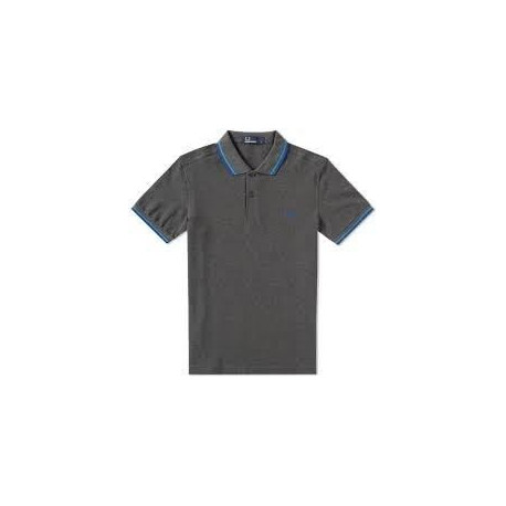 FRED PERRY Polo Homme Gris anthracite