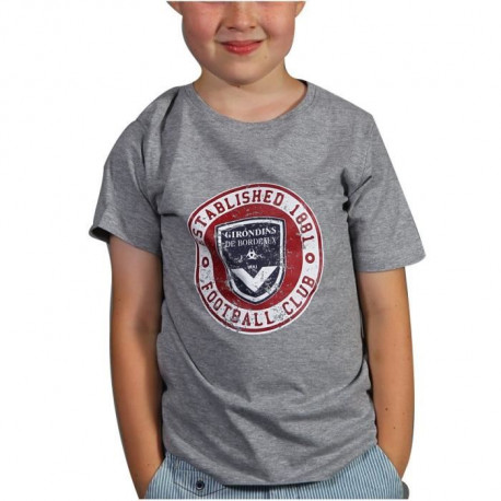 FCGB Tee-shirt Established - Junior - Gris chiné