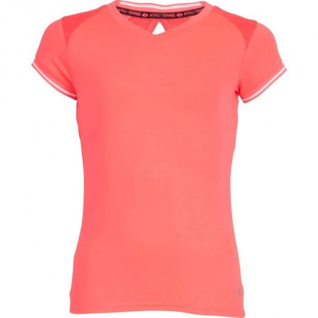 ATHLI-TECH CHRISTEL Tee-shirt MC RS- Rose