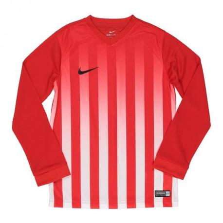 NIKE Maillot Manches longues Striped Division II - Enfant - Rouge
