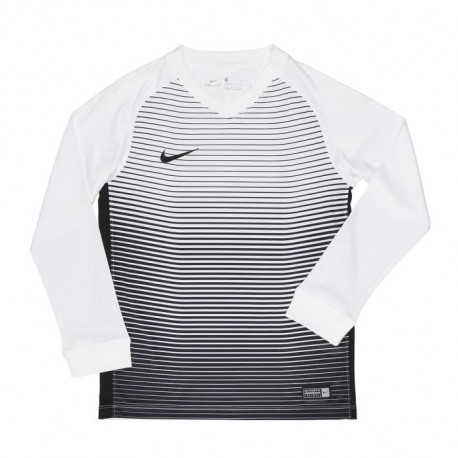 NIKE Maillot Manches longues Precision IV - Enfant - Blanc