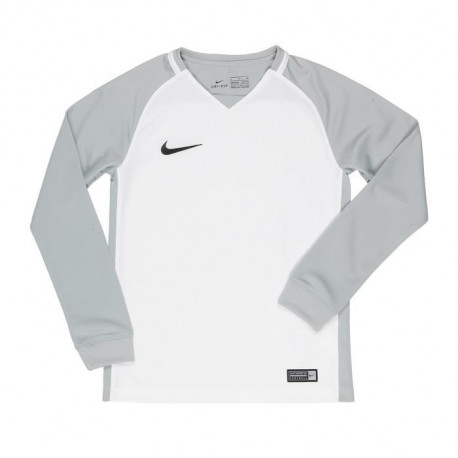 NIKE Maillot Manches longues Trophy III - Enfant - Blanc