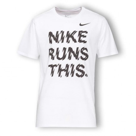 NIKE T-shirt Running Run Homme