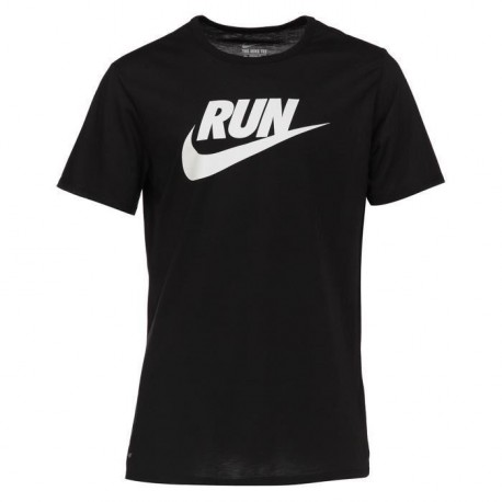 NIKE T-shirt Running Run Swoosh Homme
