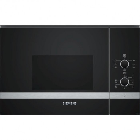 SIEMENS BE550LMR0-Micro ondes grill encastrable inox-20 L-800 W-Grill 1200 W