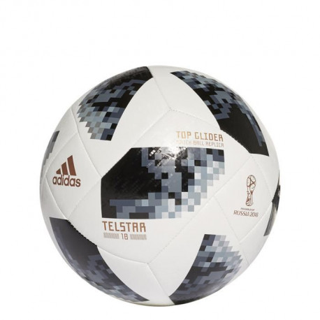 ADIDAS Ballon de football FIFA World Cup 2018 Top Glider - Mixte - Blanc et noir