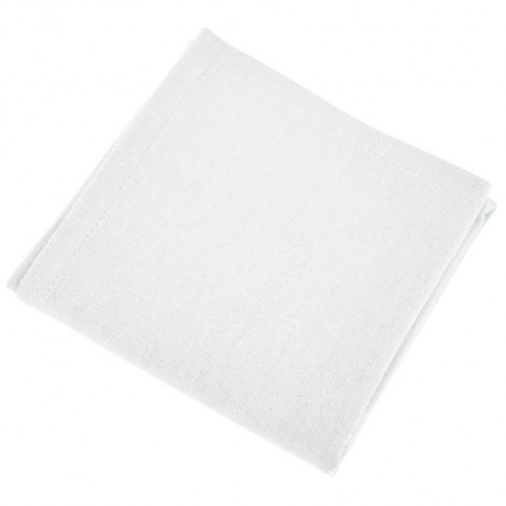 VENT DU SUD Lot de 12 serviettes de table YUCO - Blanc