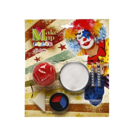 ATOSA Set Maquillage Clown 23x20 cm