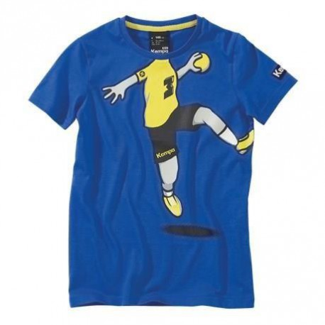 KEMPA T-Shirt Handball Cartoon Player Enfant Garçon