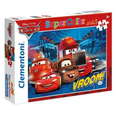 CARS Puzzle maxi 104 pieces Clementoni