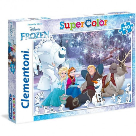 LA REINE DES NEIGES Puzzle 250 pieces Clementoni