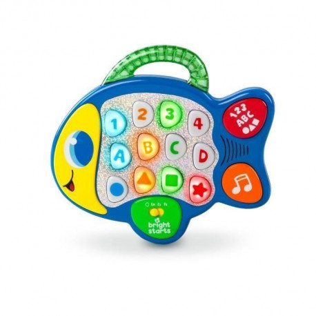 BRIGHT STARTS Lights Baby Learn & Giggle Fish - Jeu d'Eveil