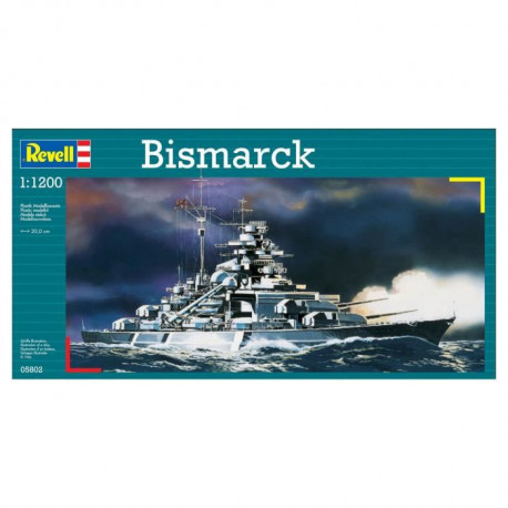 REVELL Model-Set Bismarck - Maquette