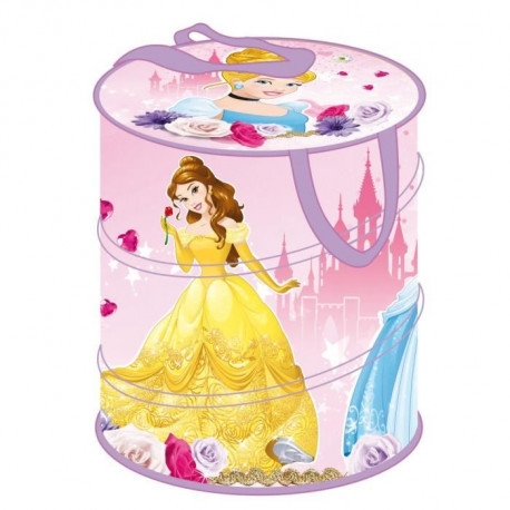 DISNEY PRINCESSES Panier a linge Pop Up - Fille