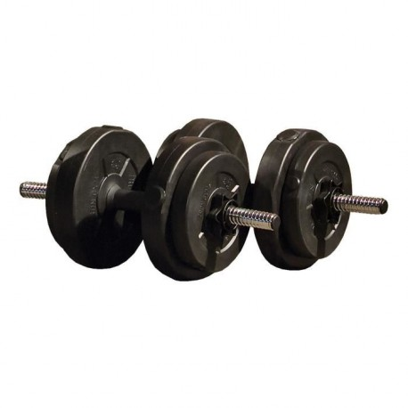 IRON GYM Set Halteres Ajustable 15Kg