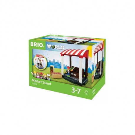 BRIO World  - 33946 - Stand De Fruits Et Legumes