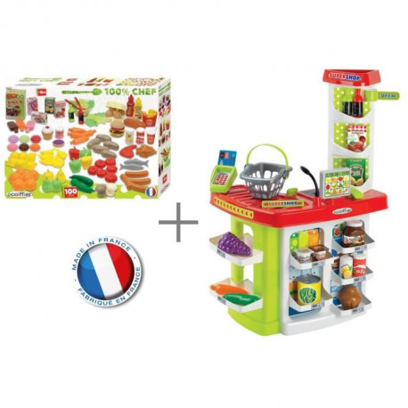 100% CHEF Super Shop + 100 fruits & légumes