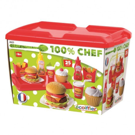 ECOIFFIER CHEF Set Hamburger