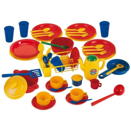 KLEIN - Family Set Emma's Kitchen - 50 pcs