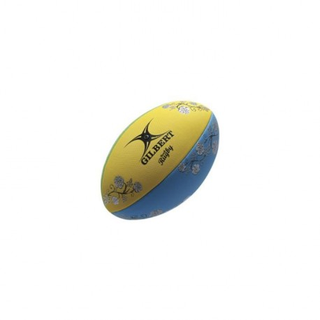GILBERT Ballon de Rugby Beach Rugby Fun RGB