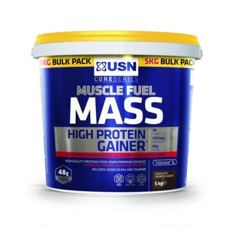 USN Prise de Masse Muscle Fuel Mass 11Lbs 5Kg NTT