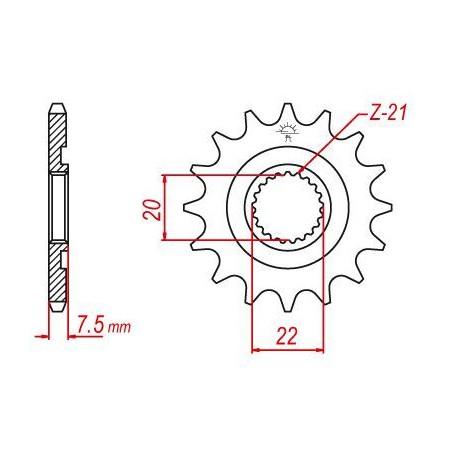 OLYMPIQUE DE MARSEILLE Cartable Scolaire - 2 Compartiments - Adolescent - 41cm - Bleu - Enfant Garçon