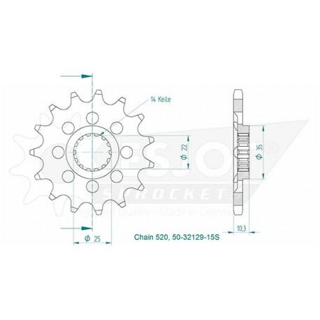 GILBERT Mini Ballon de Rugby Stade Français RGB