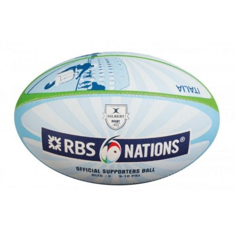 GILBERT Ballon de Rugby 6 nations RGB
