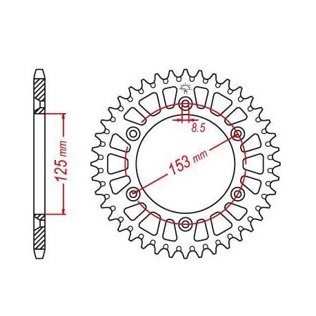 """We housse Magic 7"""" orange"""