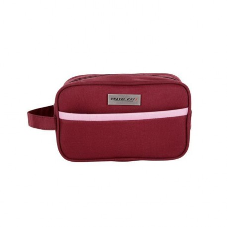 TRAVEL ONE Trousse de Toilette Pliable HANTON 26 cm Rouge