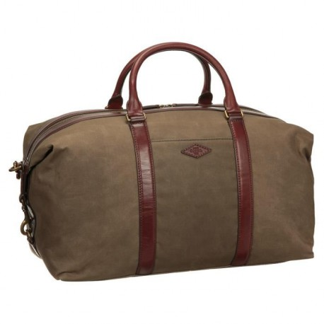 FOSSIL Sac de Voyage CAMPBELL Marron Homme