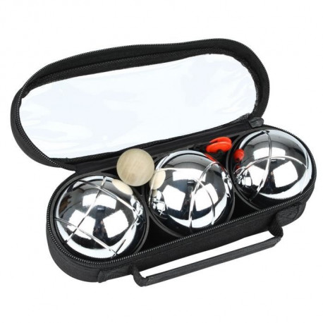 GET & GO Pack 3 boules de pétanque I striage simple