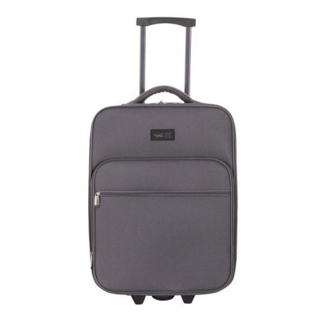 CABINE SIZE Valise Low Cost 2 Roues 50 cm BROWALLIA  Anthracite