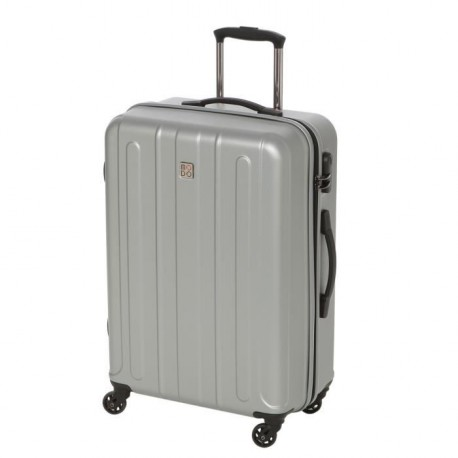 MODO BY RONCATO Valise Trolley Rigide Polycarbonate et ABS 4 Roues 67 cm SUPERNOVA Silver