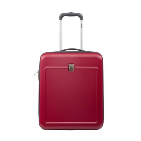 VISA DELSEY Valise Cabine Rigide ABS 2 Roues 50 cm EASY FLY Rouge