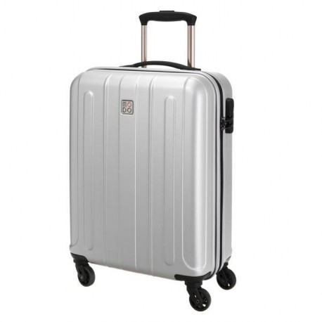 MODO BY RONCATO Valise Cabine Trolley Rigide Polycarbonate et ABS 4 Roues 55 cm SUPERNOVA Silver