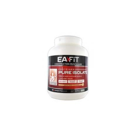 EAFIT Pure Isolate Vanille - 750 g