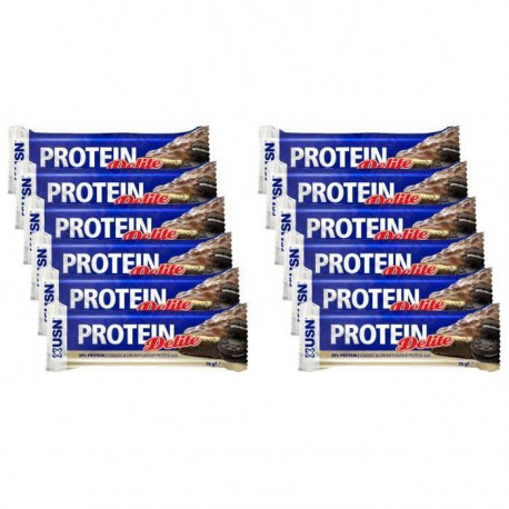 USN Protéine Delight Cookie et Cream 12 x 76 g NTT