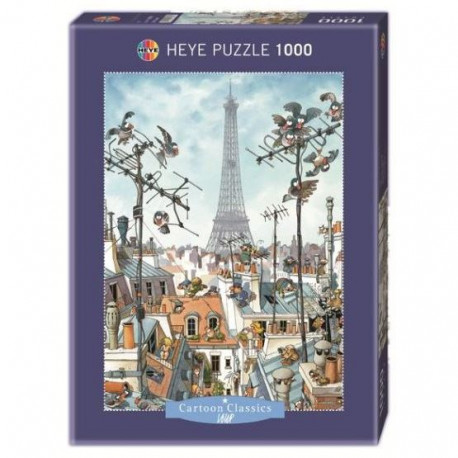 Puzzle 1000 pieces - Tour Eiffel