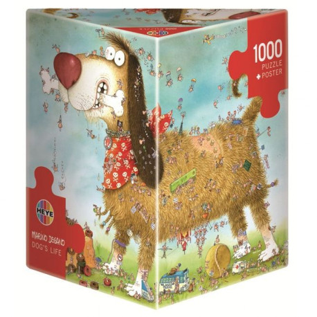 MERCIER Puzzle 1000 pieces Dog'S Life - 50 x 70 cm